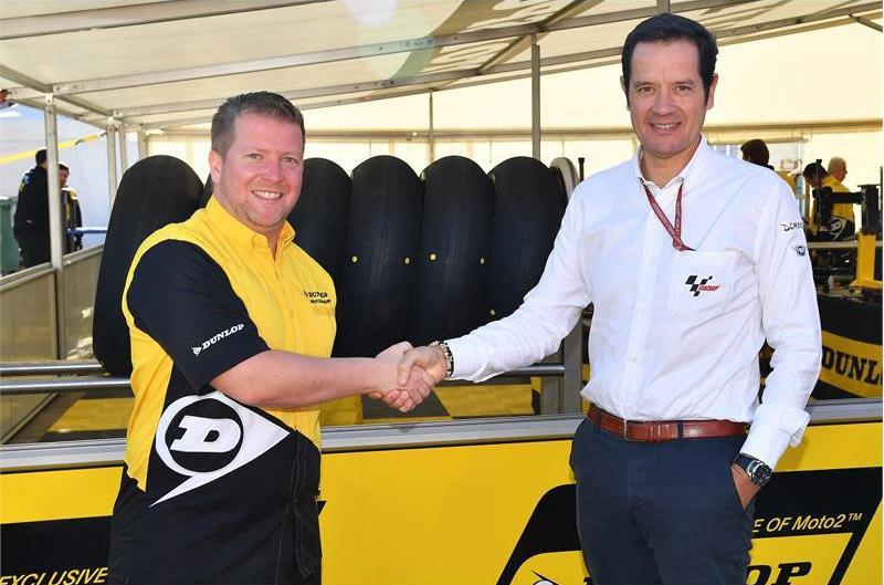 Dunlop продлевает партнерство с Чемпионатами мира  Moto2 и Moto3