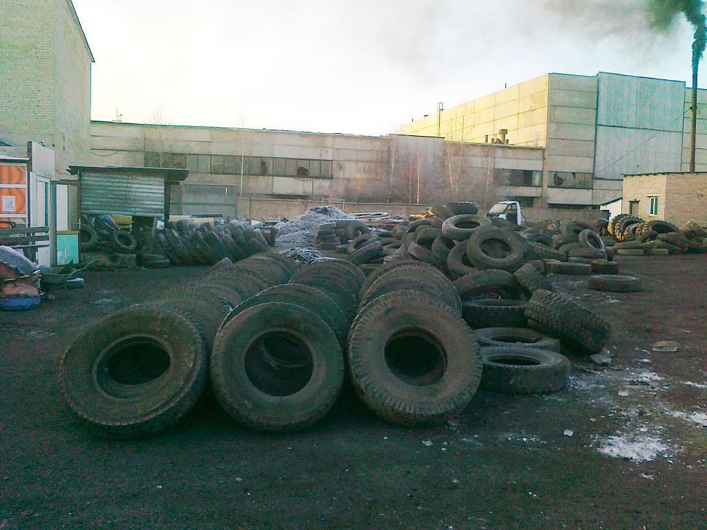 В Петропавловске наращивают мощности завода по переработке старых покрышек