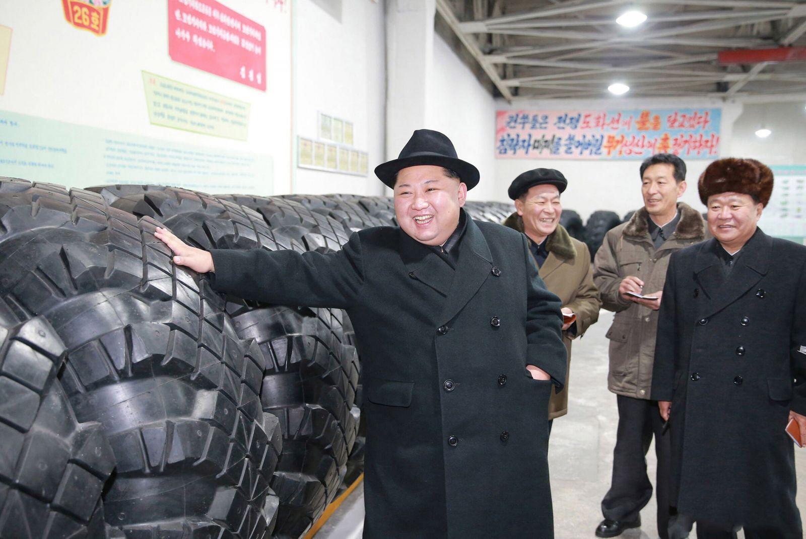 Северокорейские шинники освоили производство крупногабаритных шин