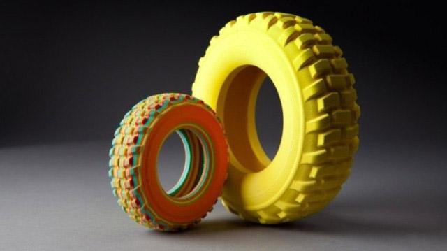Производители шин все чаще используют 3D-технологии