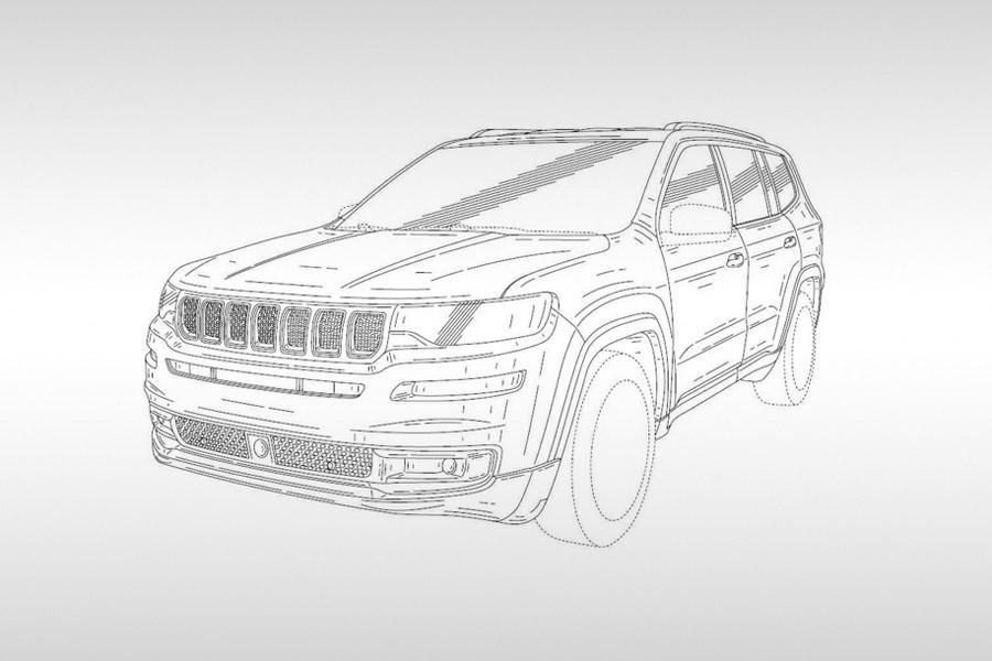 Jeep запатентовал имя будущего флагмана