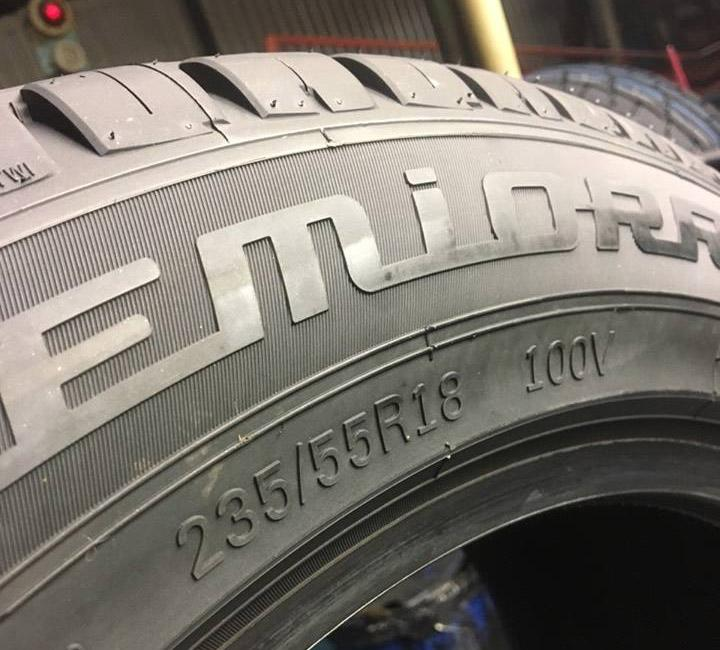 «Росава» освоила выпуск 18-дюймовых легковых шин