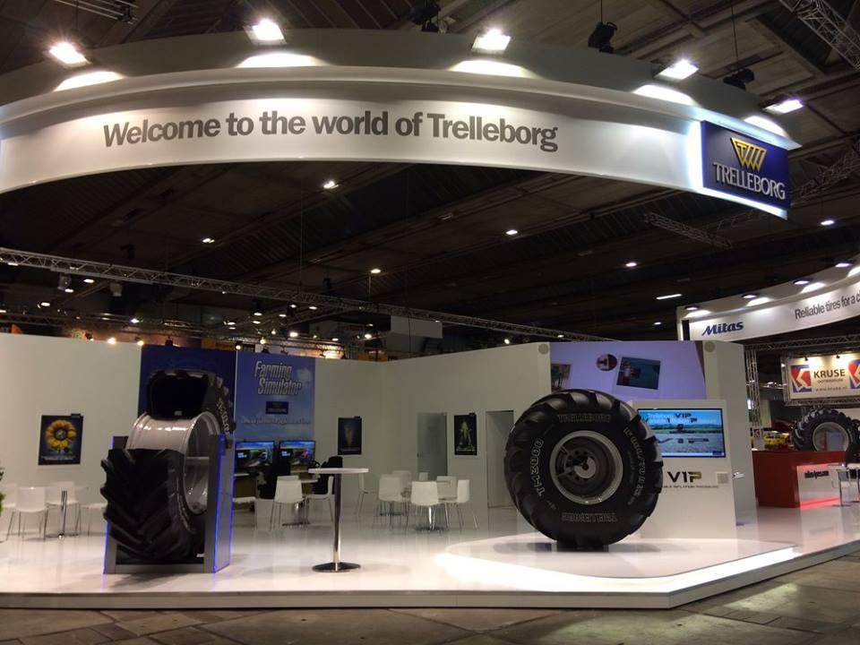 Инновации Trelleborg Wheel Systems на выставке в Брюсселе