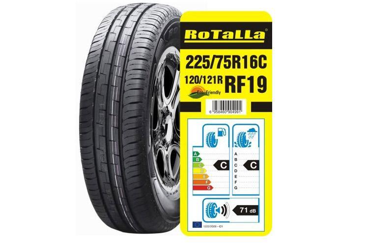 Enjoy Tyre представила новую коммерческую шину Rotalla RF19