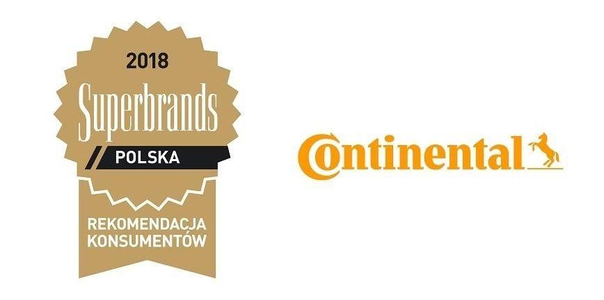 Continental получил статус «Супербренда 2018» в Польше