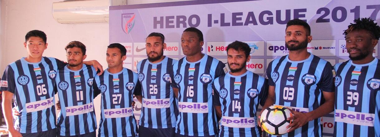Apollo Tyres - титульный спонсор лидера Чемпионата Индии по футболу