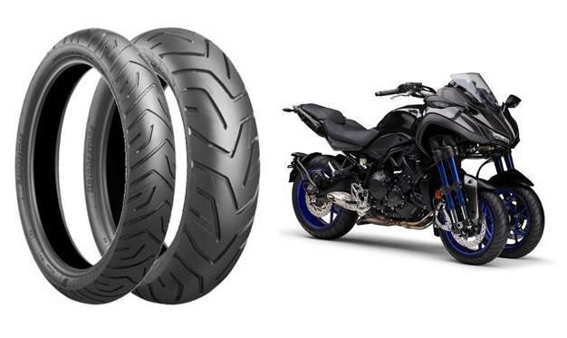 Bridgestone разработала шины для оснащения нового трицикла Yamaha Niken
