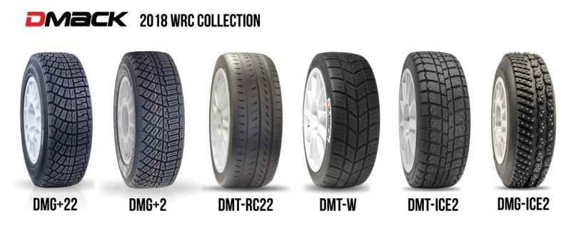 DMACK Tyres представила линейку раллийных шин 2018 года