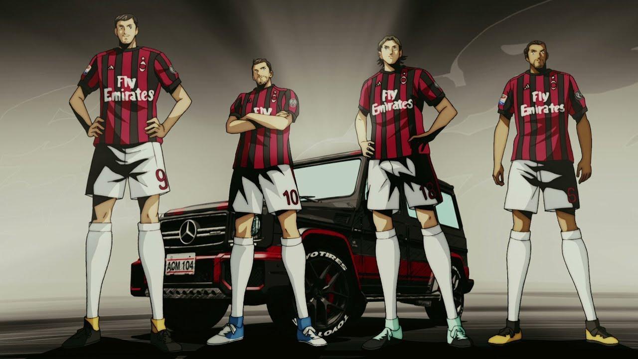 Toyo Tires и AC Milan в новой манге Йоичи Такахаши