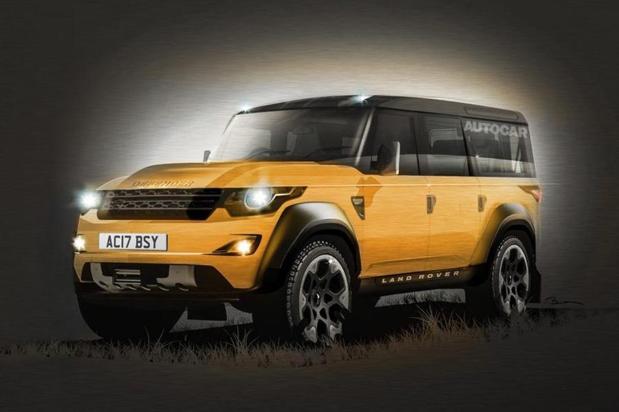 Новый Land Rover Defender станет электрическим