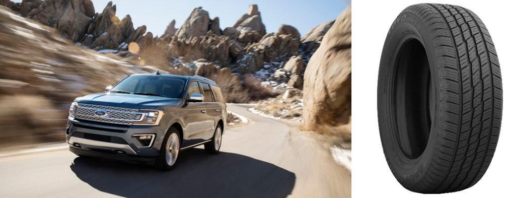 Новые шины Toyo Open Country H/T D вошли в список стандартного оборудования Ford Expedition