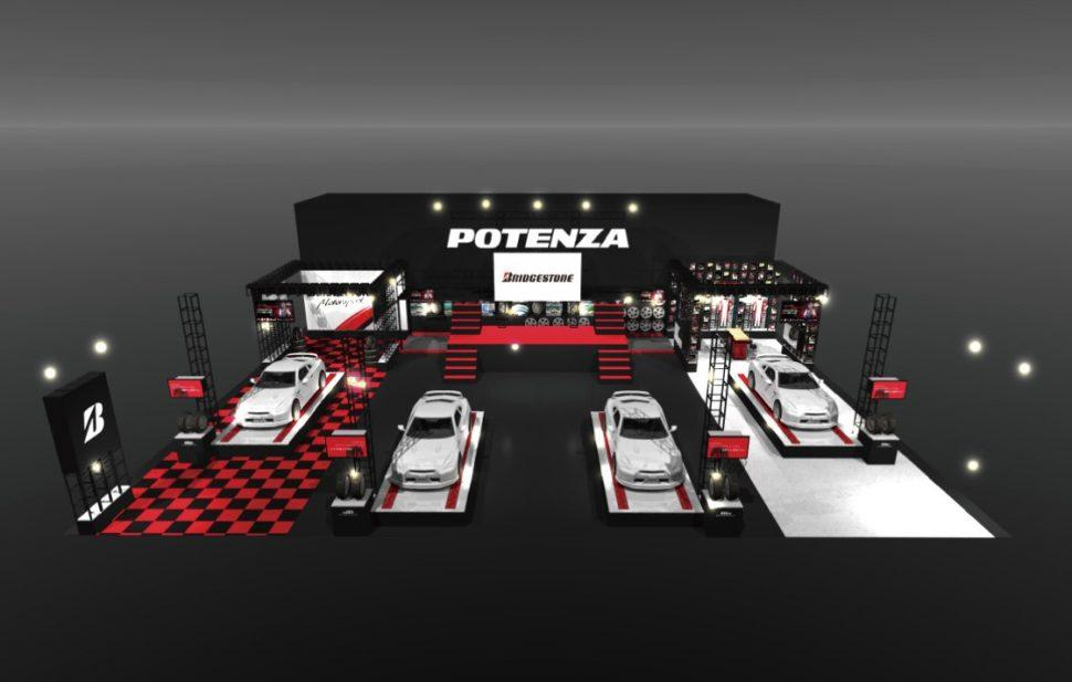 Bridgestone посвятит свой стенд на Токийском автосалоне бренду Potenza