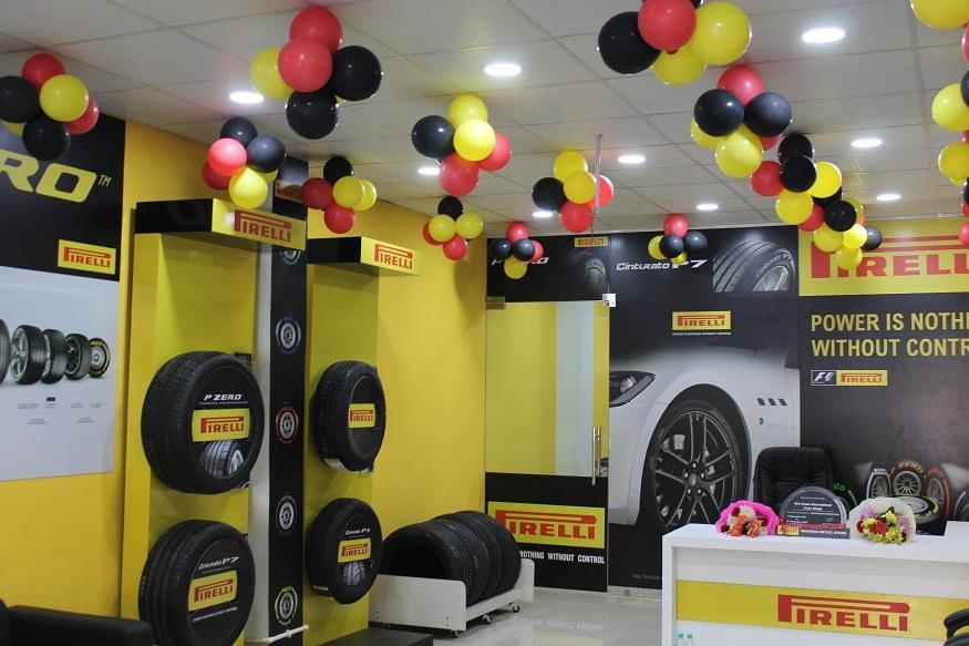Pirelli открывает второй фирменный магазин в Индии