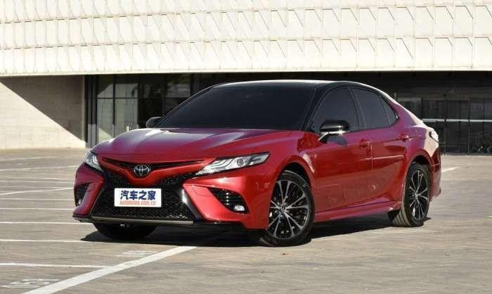 Новые Toyota Camry китайской сборки будут комплектовать шинами Bridgestone