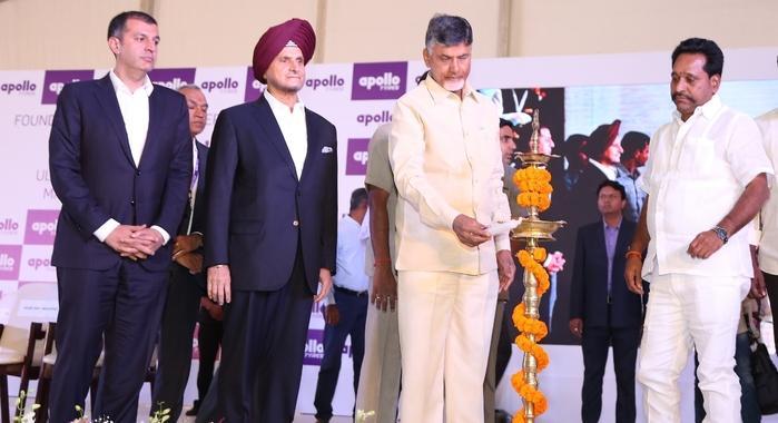 В индийском штате Андхра-Прадеш прошла церемония начала строительства завода Apollo Tyres