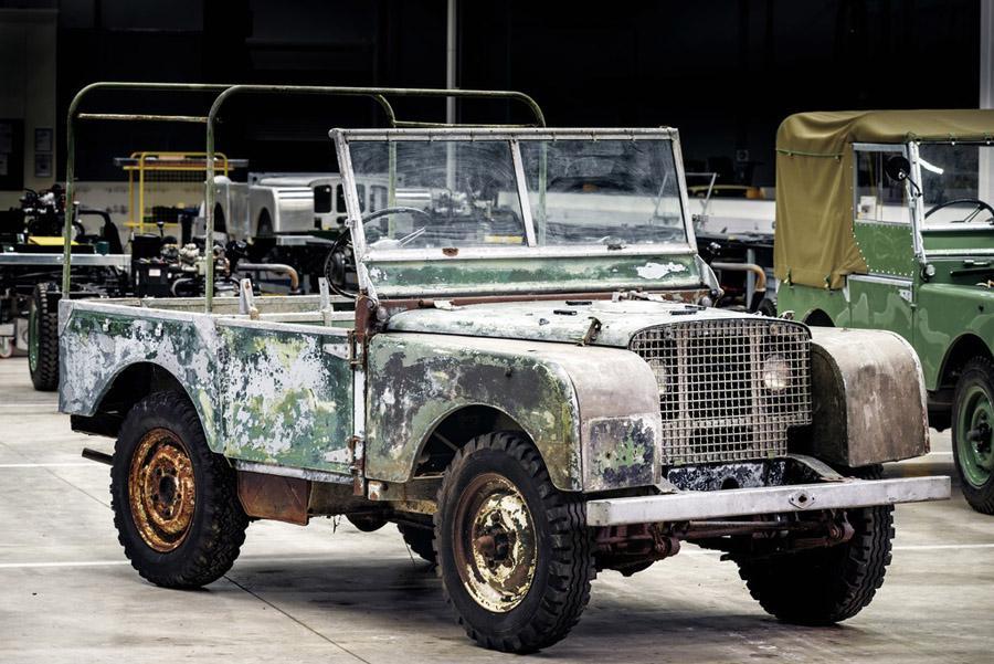 Land Rover отреставрирует свой первый прототип