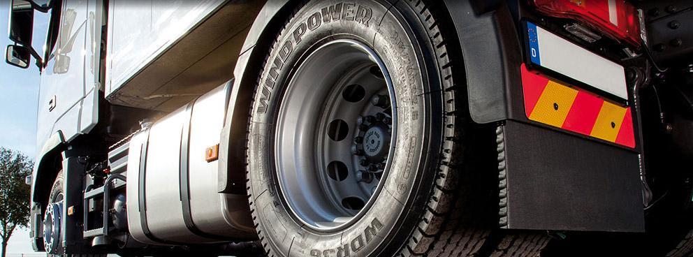 Bohnenkamp представит на выставке в Красноярске грузовые шины Windpower