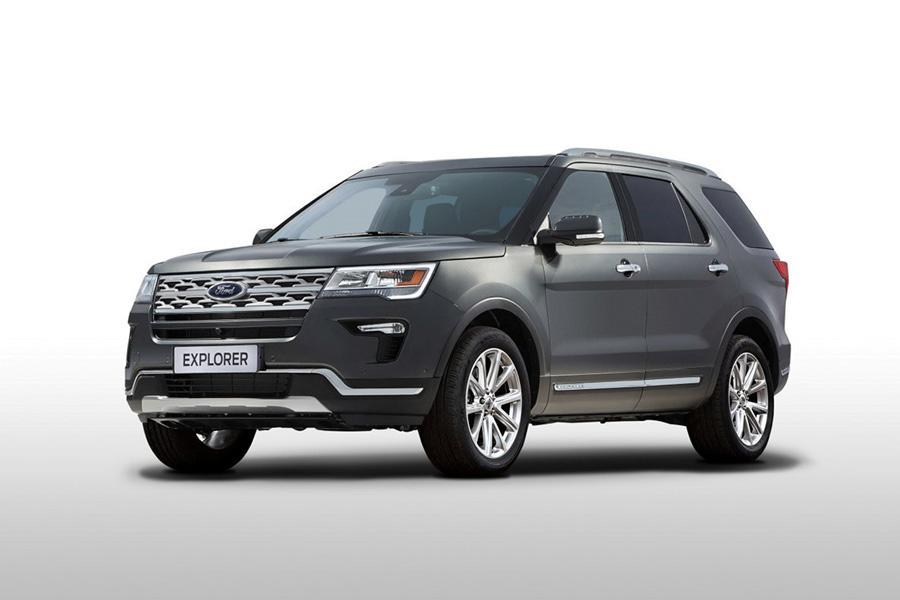 Ford обновил российскую версию Explorer