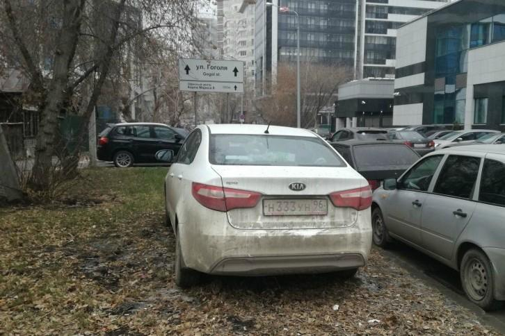 Регионы будут устанавливать свои штрафы за парковку на газоне