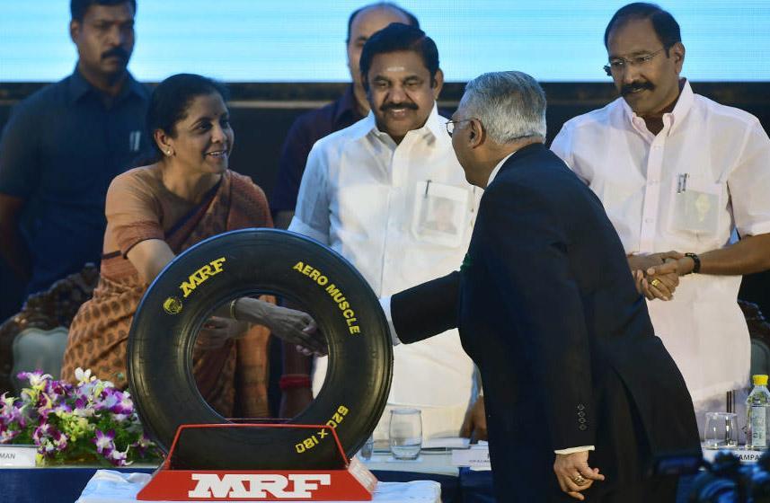 Индийская MRF разработала шины для оснащения истребителей Су-30МКИ