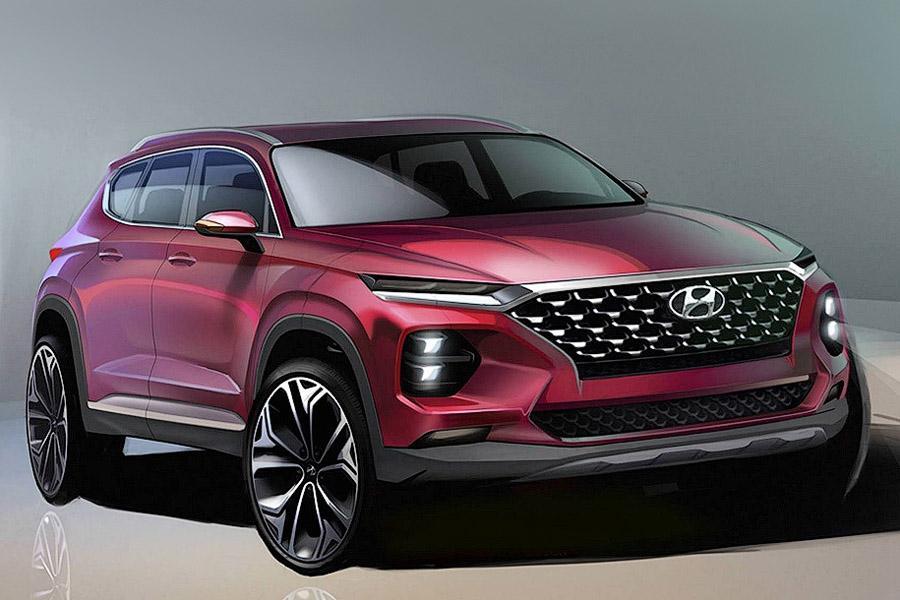 Hyundai Santa Fe: новые тизеры перед премьерой