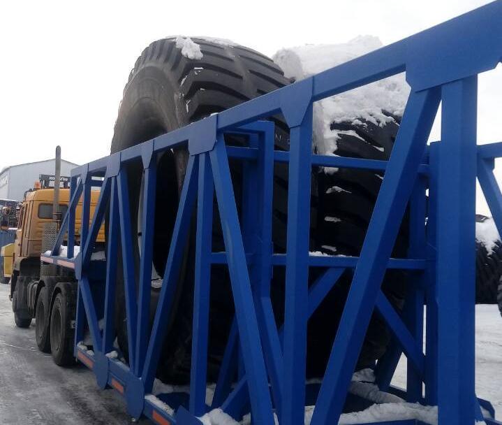 Угольщики Кузбасса придумали как сэкономить на перевозке крупногабаритных шин