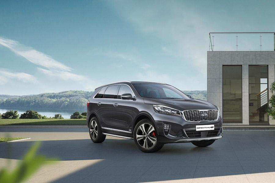 Объявлены цены на обновленный Kia Sorento Prime