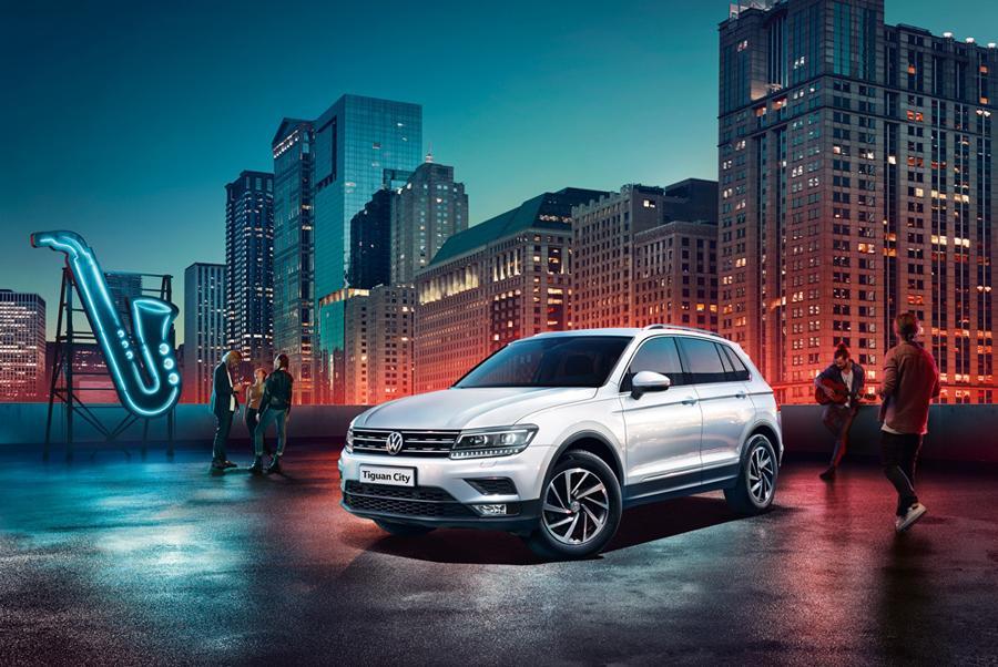 Volkswagen Tiguan представлен в новой комплектации