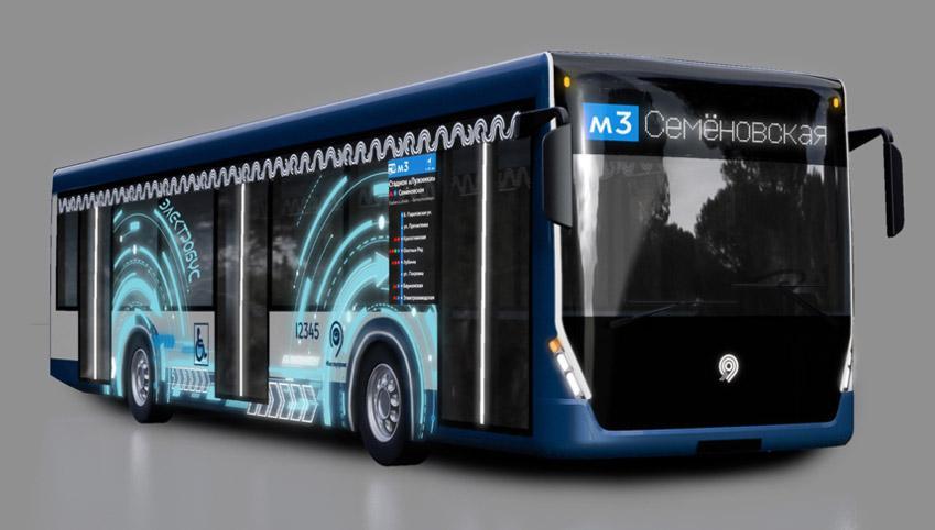 «Мосгортранс» обует автобусы и электробусы в именные шины