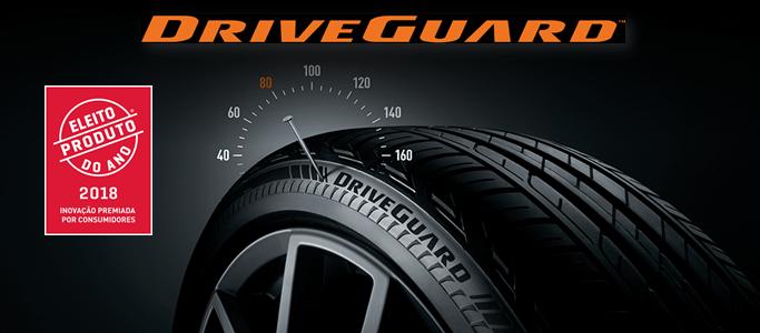 Bridgestone DriveGuard стала «Продуктом года» в Португалии