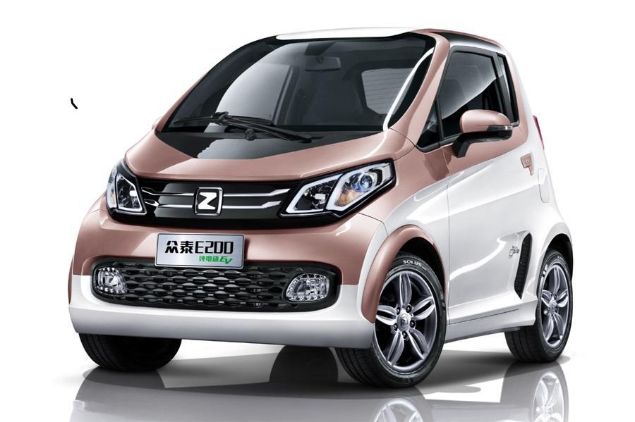 В России хотят продавать электромобили Zotye
