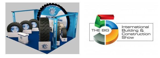 Magna Tyres привезет на выставку в Дубай свои шины для строительной техники