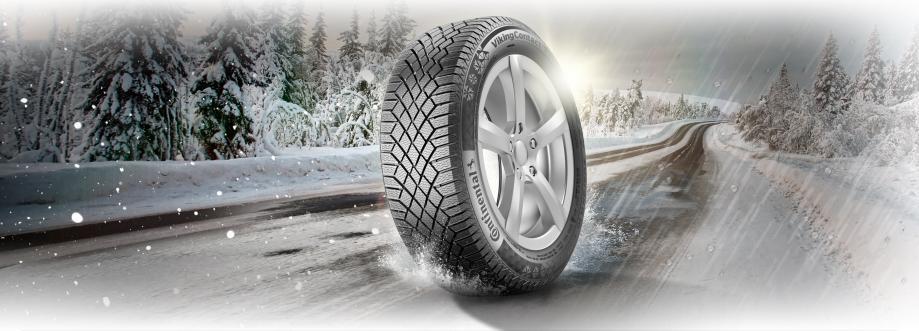 Новые VikingContact 7 - универсальные шины от Continental для скандинавской зимы