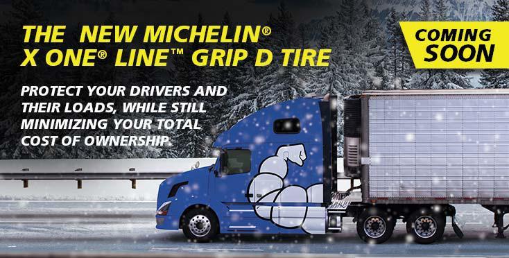 Новые грузовые шины Michelin X One Line Grip D - всесезонная безопасность и экономичность