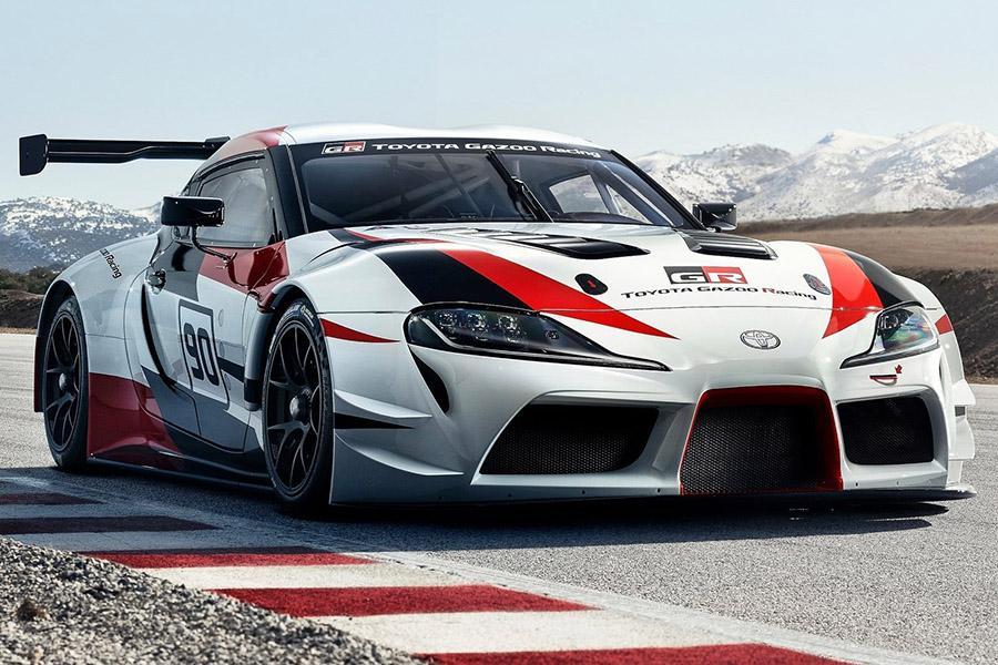 Автосалон в Женеве 2018: Toyota GR Supra Racing Concept