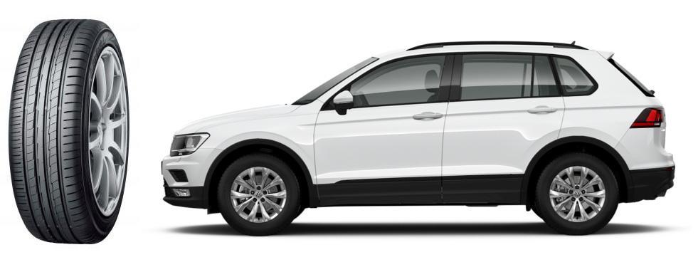 Калужские кроссоверы VW Tiguan комплектуют липецкими шинами Yokohama