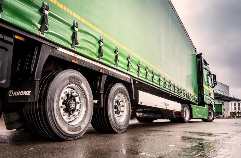 Giti Tire привезет на выставку в Бирмингем новую шину для мега-трейлеров
