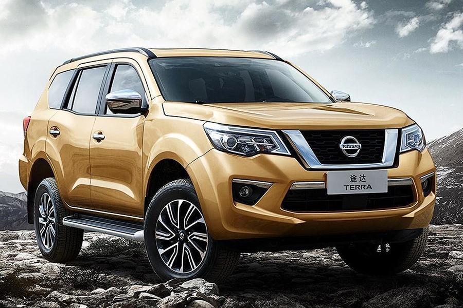 Рамный Nissan Terra: новые фотографии