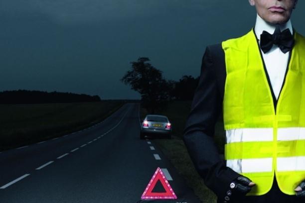 Российских водителей обязали носить светоотражающий жилет