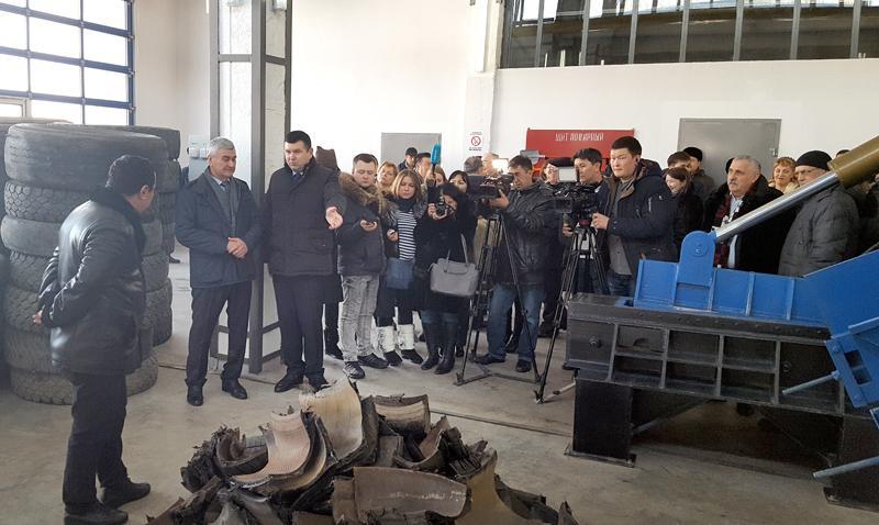 Новый завод в Уральске будет ежегодно перерабатывать 2 тысячи тонн старых покрышек
