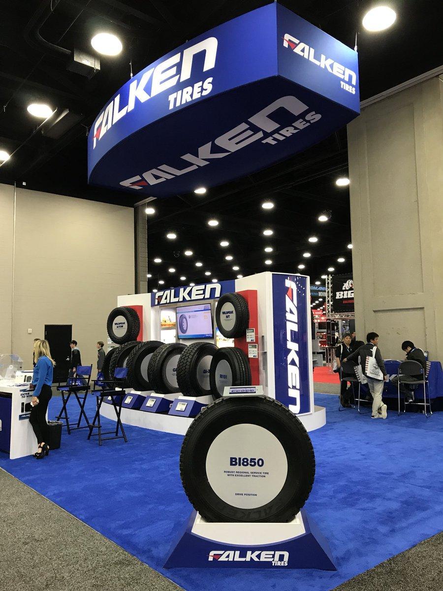 Бренд Falken дебютировал на крупнейшей мировой выставке тяжелых грузовиков