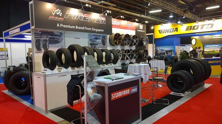 Stamford Tyres привезет в Кёльн новые модели шин бренда Firenza