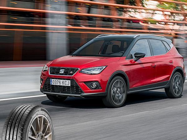 Volkswagen решил обуть новый кроссовер Seat Arona в сингапурские шины Giti Synergy E1