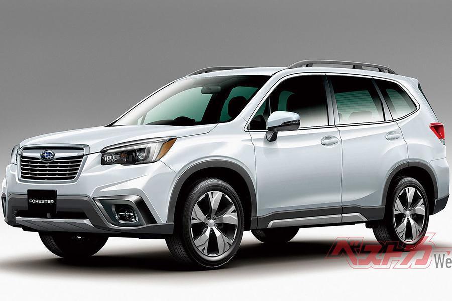 Subaru Forester: внешность полностью рассекречена