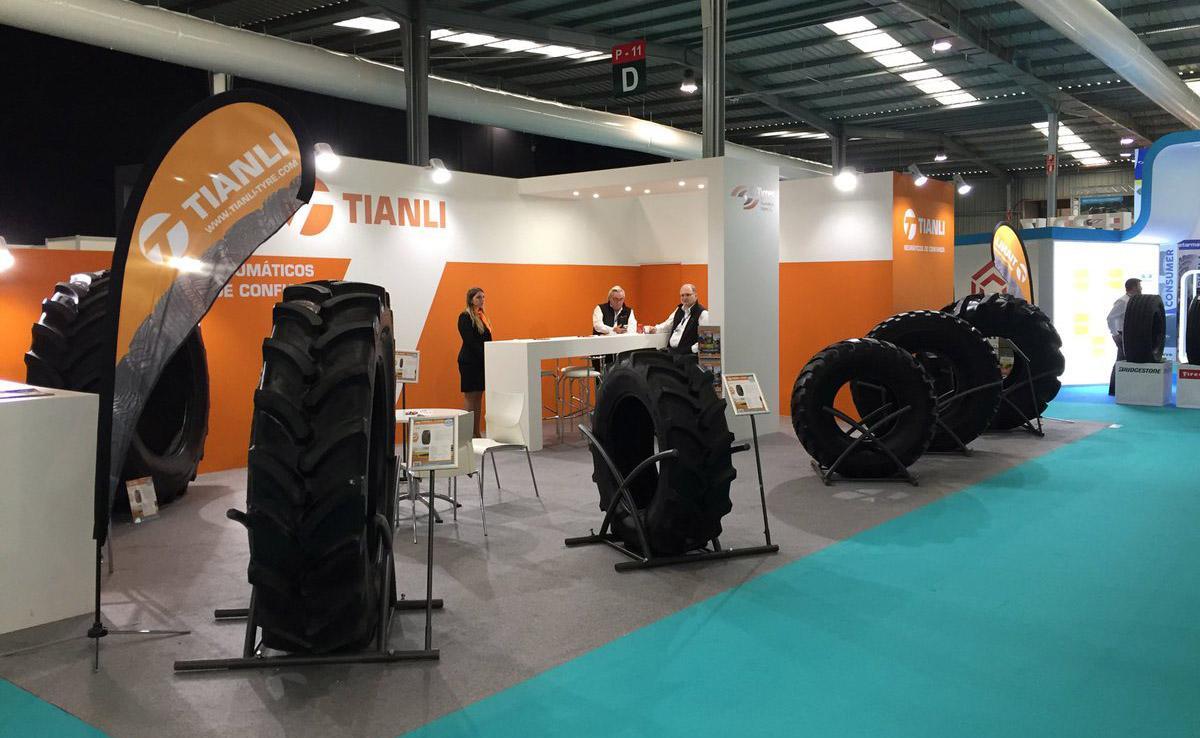 Китайская TUTRIC представит на московском агросалоне шины бренда Tianli