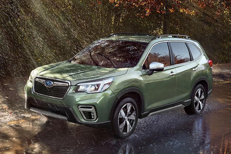 Автосалон в Нью-Йорке 2018: Subaru Forester