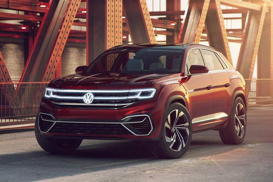 Автосалон в Нью-Йорке 2018: Volkswagen Atlas Cross Sport