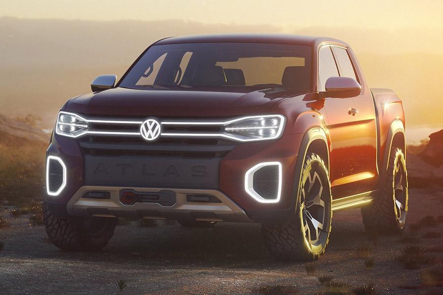 Автосалон в Нью-Йорке: Volkswagen Atlas Tanoak Pickup