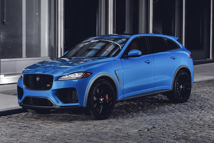Автосалон в Нью-Йорке 2018: Jaguar F-Pace SVR
