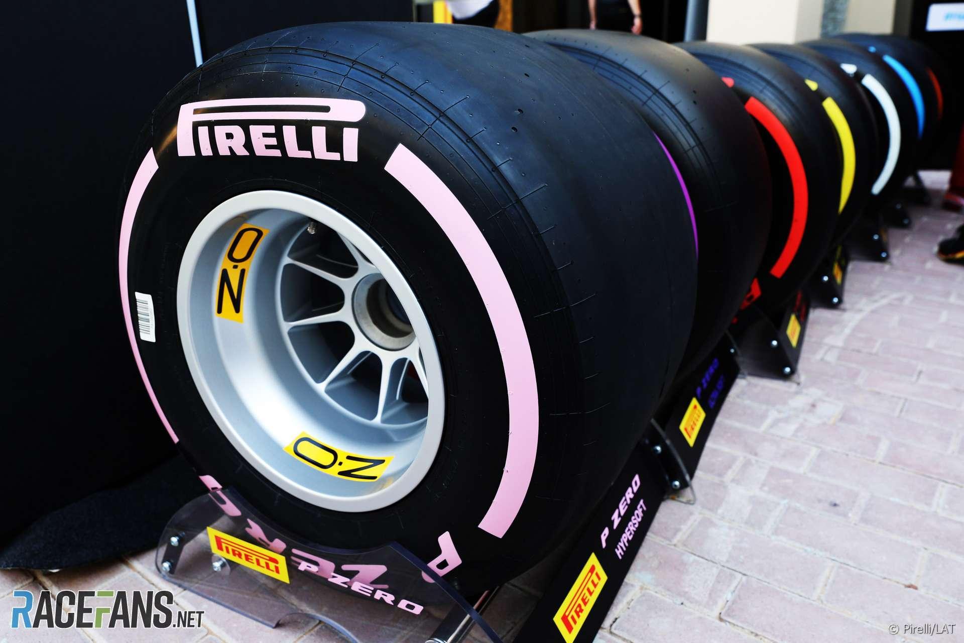 Пирелли не планирует расширять диапазон сликов для Формулы-1
